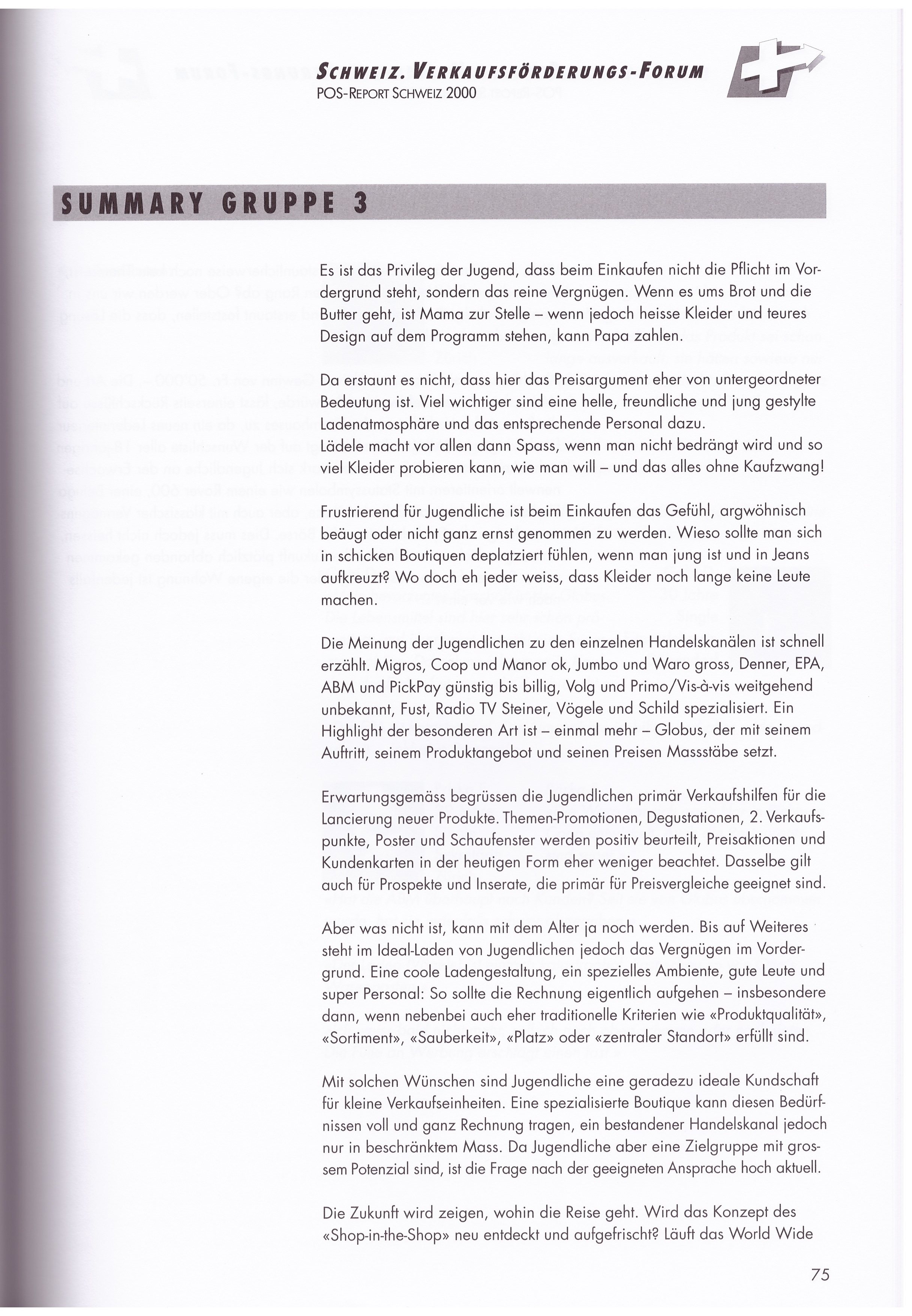 POS-Report Schweiz › Martin Stehli